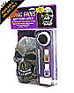 Skull Living Faces Mask and Make Up Kit