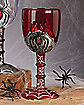 Clear Plastic Spider Goblet