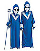 Kids Deep Space Blue Alien Costume