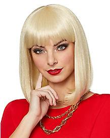 Blonde Pageboy Wig