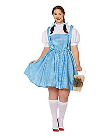 adult dorothy plus size costume wizard of oz