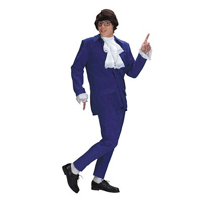 1960s Inspired Fashion: Recreate the Look Adult Austin Powers Costume Deluxe - Austin Powers $49.99 AT vintagedancer.com