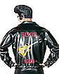 Elvis Black Leather Adult Costume