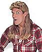 Blonde Super Mullet Wig