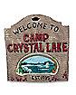 Camp Crystal Lake Wall Sign