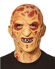 vinyl freddy krueger mask a nightmare on elm street - Creepy Masks For Halloween