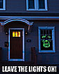 Green Demon Window Poster - Decorations
