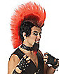 Hell Fire Mohawk Adult Wig