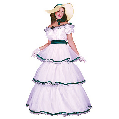 Victorian Costume Dresses & Skirts for Sale Adult Southern Belle Costume $49.99 AT vintagedancer.com