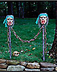36 inch Zombie Chain Fence