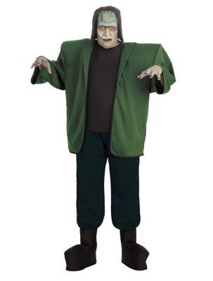 60s -70s  Men's Costumes : Hippie, Disco, Beatles Mens Frankenstein Plus Size Costume - Universal Monsters by Spirit Halloween $54.99 AT vintagedancer.com