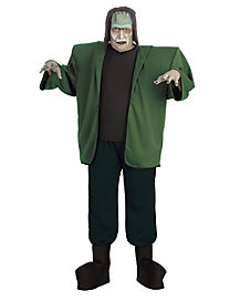 Adult Frankenstein Plus Size Costume - Universal Monsters
