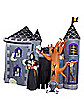Airblown Inflatable Haunted Castle With Reaper