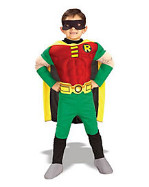 Kids Robin One Piece Costume - Teen Titans