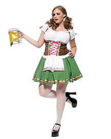 Oktoberfest Adult Gretchen Plus Size Costume