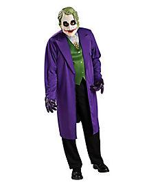 Adult Joker Plus Size Costume - Batman