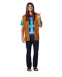 Fringed Suede Hippie Vest