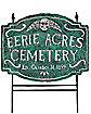 Cemetery Lawn Sign