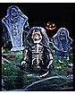 Zombie Skeleton Ground Breaker Prop
