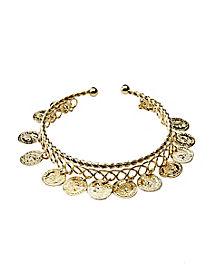 Goddess Coin Bracelet