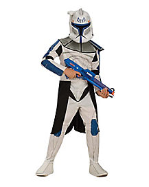 Kids Clone Trooper Captain Rex Costume - Star Wars Clone Wars