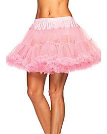 Pink Plus Size Petticoat
