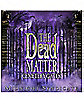 Midnight Syndicte the Dead Matter Music Cd