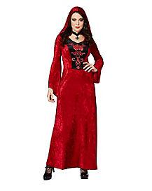 Adult Gothic Vampiress Robe Costume