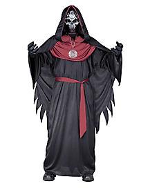 Kids Burgundy Emperor of Evil Costume