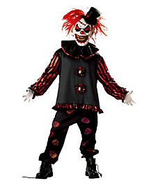 Kids Carver the Clown Costume  sc 1 st  Spirit Halloween : halloween costumes jester  - Germanpascual.Com