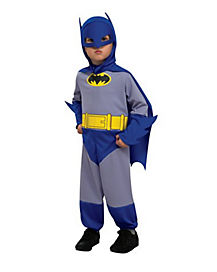 Toddler Batman One Piece Costume - Batman The Brave and Bold