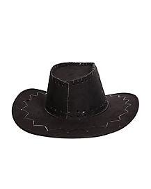 Black Stitch Cowboy Hat