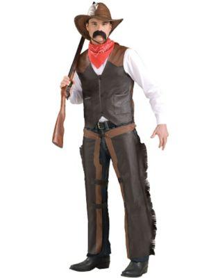 Victorian Men's Costumes: Mad Hatter, Rhet Butler, Willy Wonka Cowboy Chaps by Spirit Halloween $19.99 AT vintagedancer.com