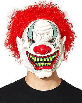 Foamy the Clown Full Mask