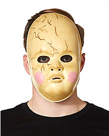 Creepy Baby Doll Mask