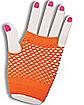 Neon Fishnet Short Gloves
