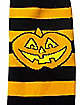 Striped Pumpkin Socks