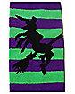 Striped Witch Knee High Socks