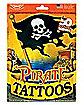 Pirate Bag of Tatoos/ Set of 50