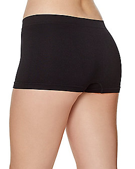 Seamless Boyshort Panties - Black