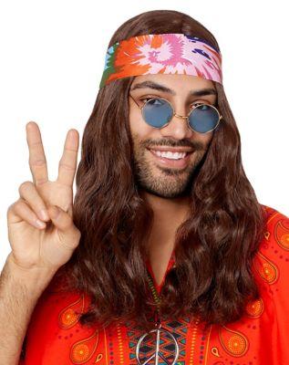 Vintage Hair Accessories: Combs, Headbands, Flowers, Scarf, Wigs Hippie Wig by Spirit Halloween $16.99 AT vintagedancer.com