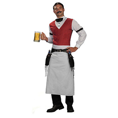 Steampunk Clothing- Men's Adult Bartender Costume $39.99 AT vintagedancer.com