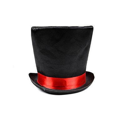 Vintage Men's Costumes – 1920s, 1930s, 1940s, 1950s, 1960s Mad Hatter Top Hat $16.99 AT vintagedancer.com