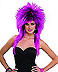Purple Pizazz Adult Wig