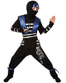 Kids Ice Dragon Ninja Costume