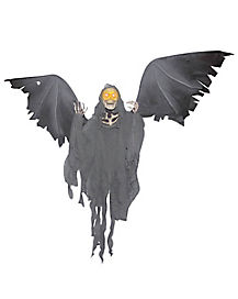 3 ft Animated Flying Reaper - Decorations