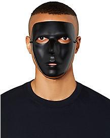 Blank Black Mask