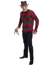 Adult Freddy Krueger Costume Deluxe - Nightmare on Elm Street