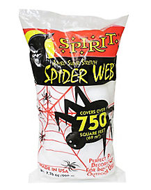 superstretch spiderweb jumbo bag - Spirit Halloween Decorations