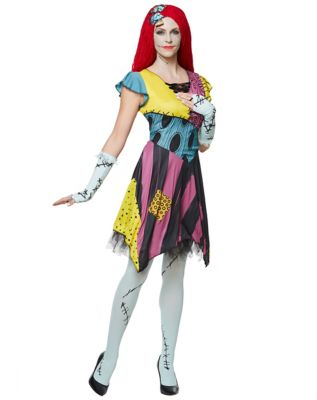 Adult Sassy Sally Costume - The Nightmare Before Christmas by Spirit Halloween